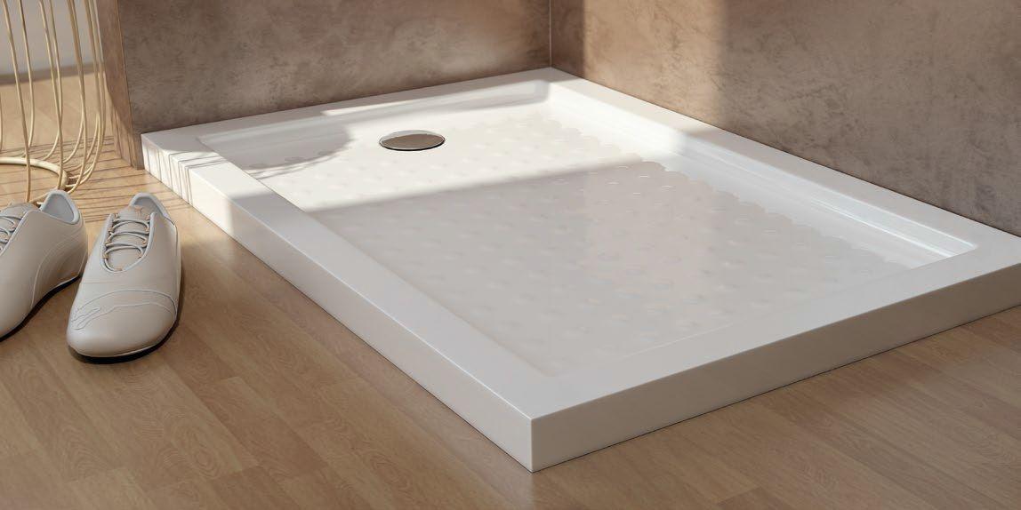 Platos de ducha de resina Plato de ducha acrílico Azulejos gres porcelanico